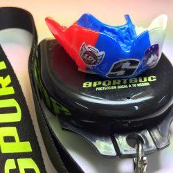 SPORTBUC contact protector rugby, baloncesto, balonmano, hockey, béisbol, fútbol americano, lacrosse