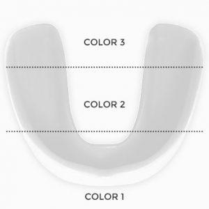 sportbuc tres franjas horizontales