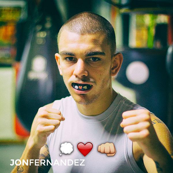 jon fernandez sportbuc modelo punch boxeo mma