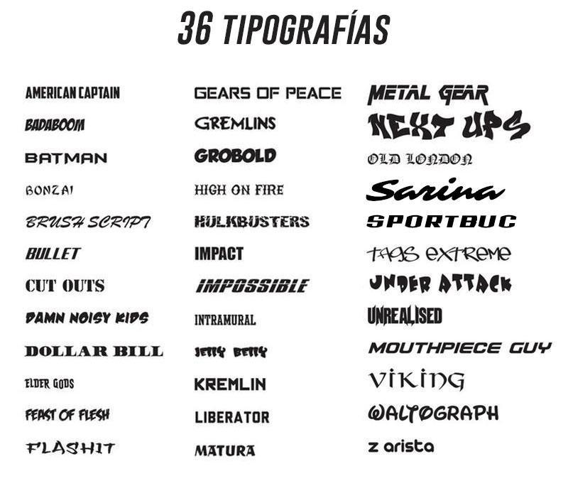sportbuc tipografias