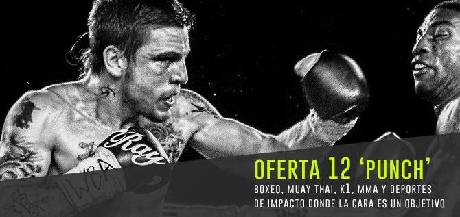 Oferta 12 Punch protector bucal para boxeo, muay thai, k1, mma y deportes de impacto donde la cara es un objetivo
