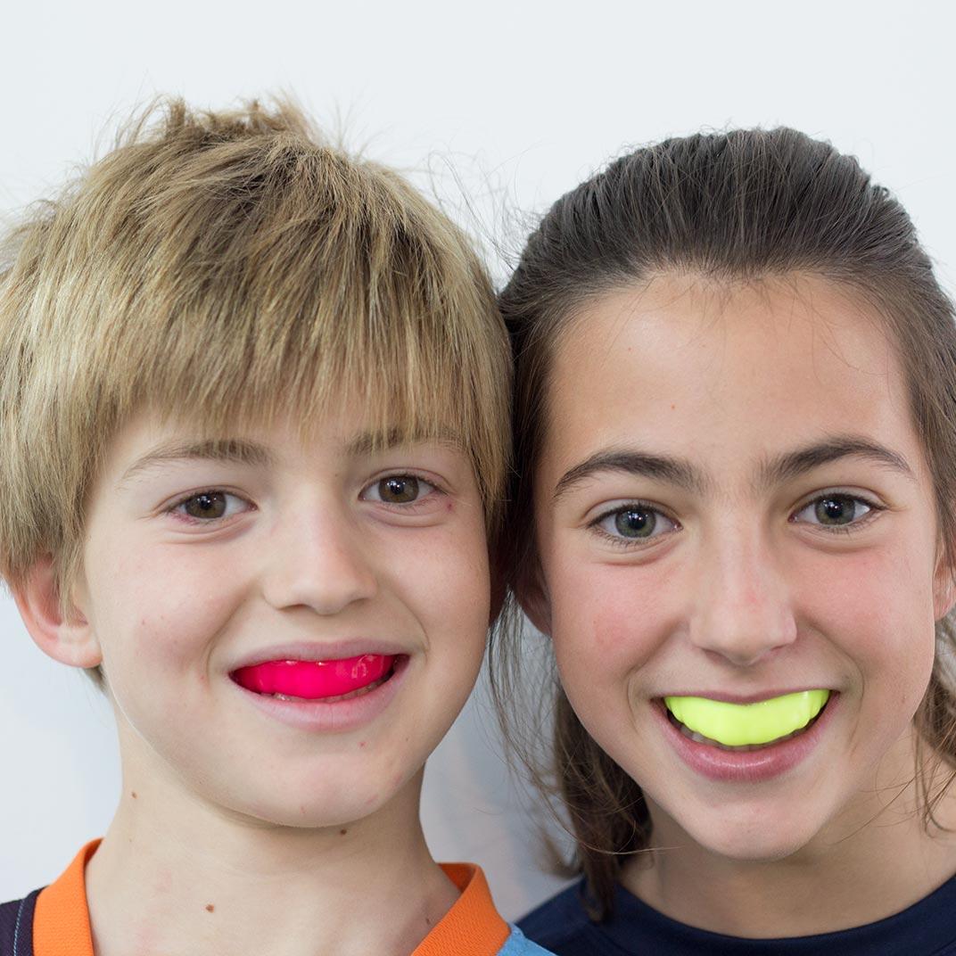 Protector bucal hecho a medida para niños MINIBUC